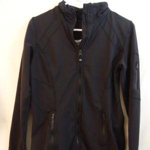 Kirkland Athletic Zip Up Jacket Black Medium